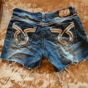 Big Star Cut off Jean Shorts, Size 31